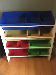 Toy storage shelf - $15