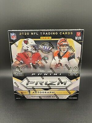 2020 Panini Prizm Football Mega Box- Walmart Sealed Box- In Hand Ready To Ship!!