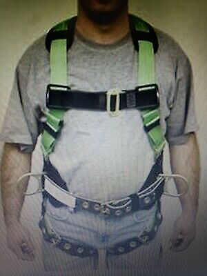 Miller 650t-61 Mgk Miller Hp Stretch Harness Fall Protection Medium