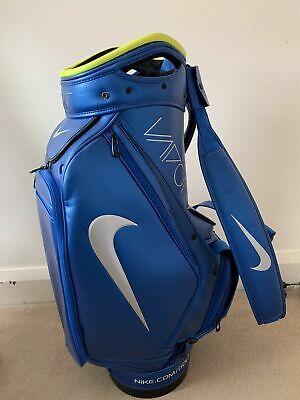 Nike Rare Golf Tour / Staff Bag Blue Vapor / Tiger/  Brooks Koepka/ Collectors!!