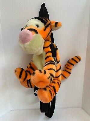 """Disney Mini 10"""" Tigger Plush Back Pack Pooh Bag Stuffed Animal Plush Carry -"""