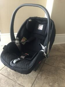 Peg perego infant car seat, base and head support