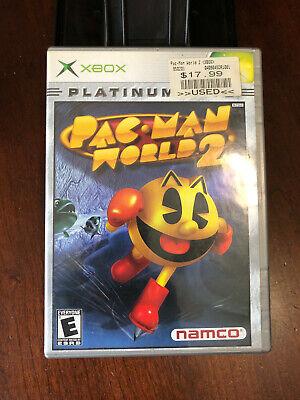2002 Xbox Namco Pac-Man World 2 Video Game Used