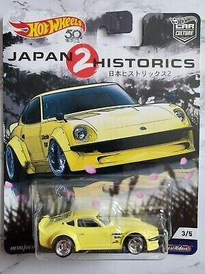 hot wheels 2018 car culture japan historics #2 nissan fairlady  z