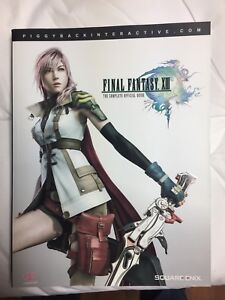Final Fantasy XIII Official Strategy Guide