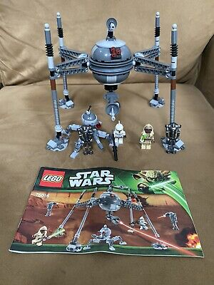 LEGO Star Wars Homing Spider Droid 75016 Used 100% Complete Instructions Minifig