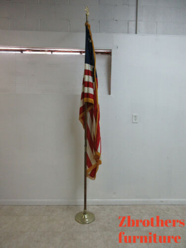 Vintage American  Flag Pole Stand From Church Dettra Flag Company