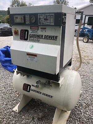 Gardner Denver Industrial Air Compressor Ela99a Sn D052918