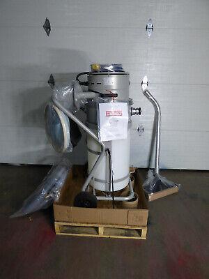 Tiger Vac Hepa Vacuum 15 Gallon 2000 Watt Asbestos Remediation 120 Volt Cart New