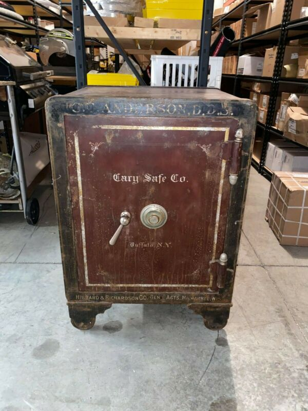 1884 Antique Cary Safe Company (Good Working Condition)