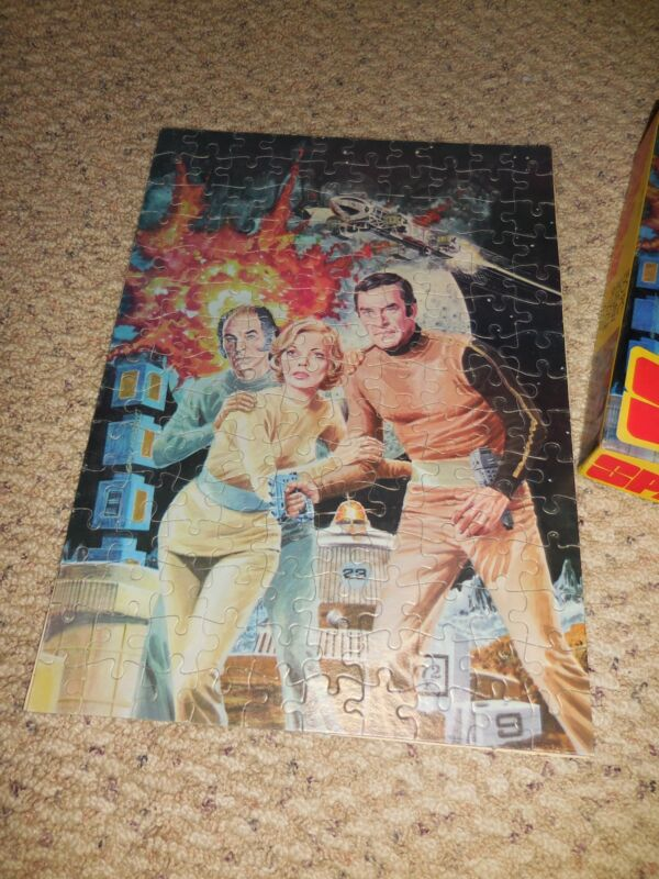 1975 Space: 1999 Puzzle in Box #497-01 HG Toys