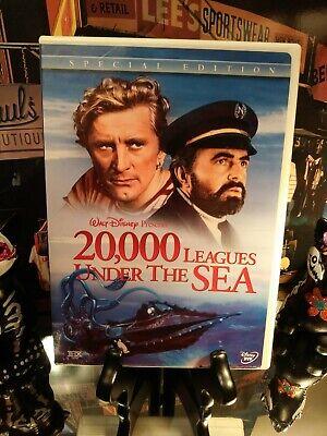 20,000 Leagues Under the Sea (DVD) SE Disney 2-Disc Set - Kirk Douglas 1954