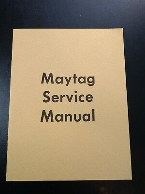 Maytag Service Manual Booklet Wico Magneto Model Fw-1718 Model 82 92 Multi Motor