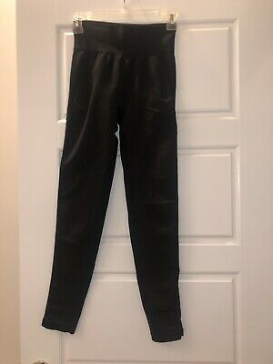 NEW Gymshark High Waisted Flex High Waisted Leggings Black Size S Small
