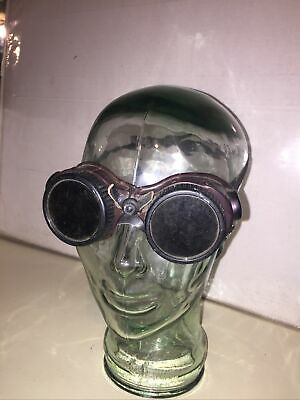 Vintage Org. Wilson Welding Goggles Glasses Steampunk Cosplay Costume Comicon