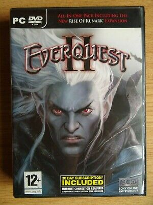 Used, Everquest II PC DVD game  for sale  Shipping to Nigeria