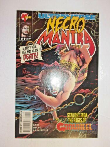 NECRO MANTRA  #1  ULTRAVERSE Malibu  COMBINE SHIPPING AND SAVE
