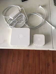 Apple Extreme base + airport express