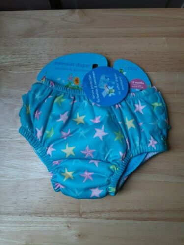 Girls Swimsuit Diaper by I Play Size 12 Months  NEW WITH TAGS