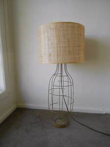 Table light made from wire with lampshade Beaumaris Bayside Area Preview