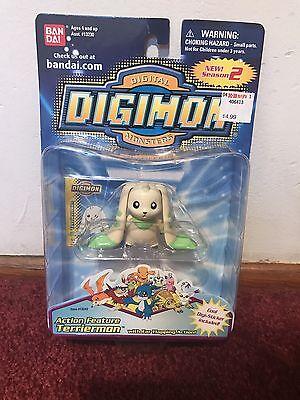 Digimon Terriermon Action Feature Bandai Rare