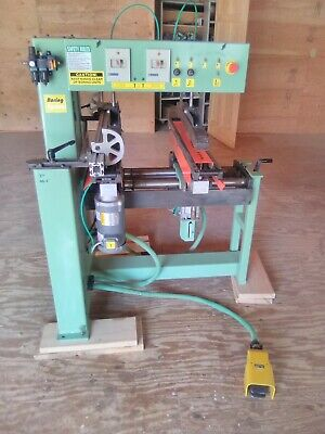 Conquest Industries 46-2 Line Boring Machine Cabinet Making Woodworking Drilling