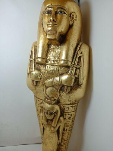 RARE ANTIQUE ANCIENT EGYPTIAN Ushabti Servent God Isis Health Cure 1730-1670 Bc