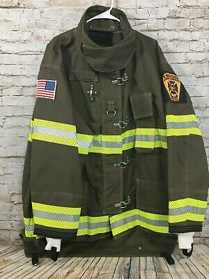 New Globe Crosstech Firefighter Turnout Jacket No Liner Mens Size 52