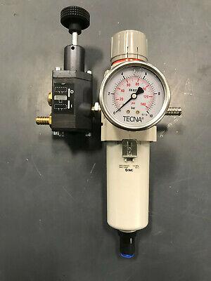 5 Micron Metal Bowl 7.25-123 psi Set Pressure Range SMC AW40-N04-2Z Filter//Regulator 1//2 NPT Relieving Type No Gauge 106 scfm Manual Drain