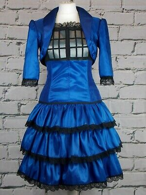 Doctor Who Tardis themed cosplay steampunk costume navy - Tardis Kostüm