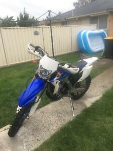 Wr450 2012 Learner legal bike