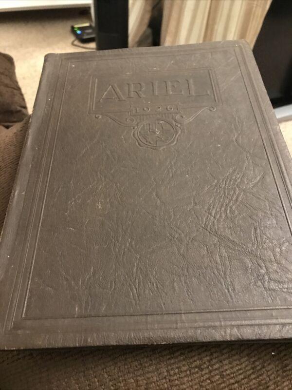 "Santa Ana High School Yearbook 1926 ""The Ariel"" 20 Los Angeles, California CA"