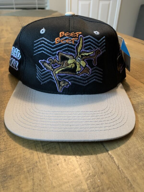 Vintage Looney Tunes Wile E. Coyote 1997 Snapback