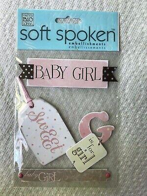 Soft Spoken Me & My Big Ideas Baby Girl - Baby Girl Scrapbook Ideas