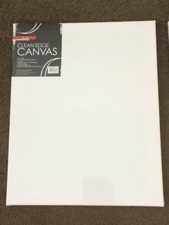 2 x unused blank art canvases in original wrapping