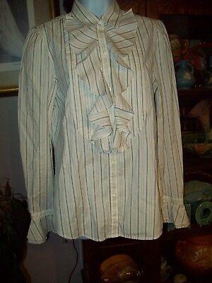 Ralph Lauren 1800s Victorian Civil War Steam Punk Costume M Blouse,Titanic