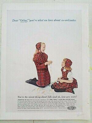 1961 Kleine Mädchen Orlon Tartan Plaid Kleider Johnston Of Dallas Vintage