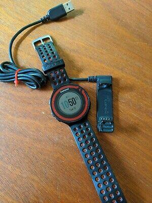 Garmin Forerunner 220 GPS Running Watch (Black/Red) - Fitness, Training, Workout