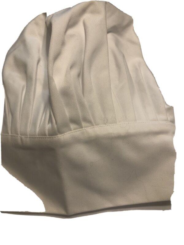 White Chef Hat - Size Medium