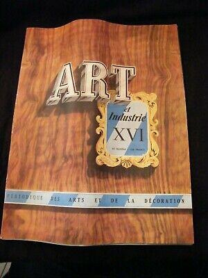 Art and Industry June 1949 Jean Despres Art Black Jacques Adnet