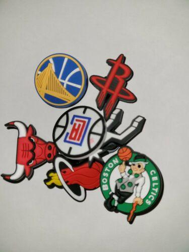 NBA Basketball  Team Croc Jibbitz Croc Charm, Your Choice