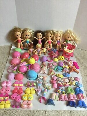 Huge Lot Fisher Price Snap N Style, Dolls, Clothes, Shoes,Accessories