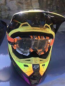 Fox Motocross /Motor Bike helmet Neutral Bay North Sydney Area Preview