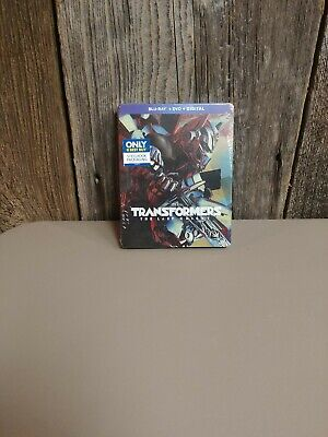 Transformers: The Last Knight Steelbook Blu-ray/DVD/Digital