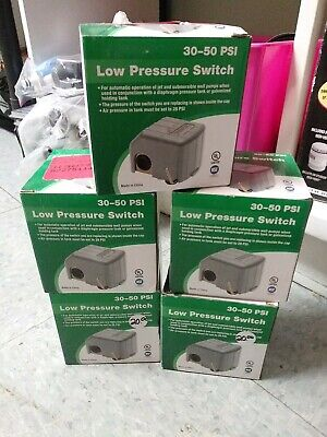 Low Pressure Switch 30 To 50 Psi Well Pumps