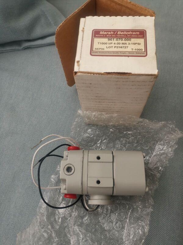Bellofram tranducer t1000 961-070-000