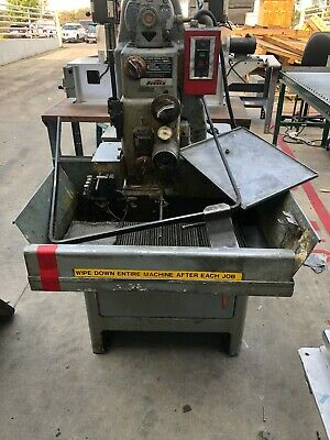 Sunnen Model Mbb 1650 Ms Manual Stroke Hone Precision Honing Machine