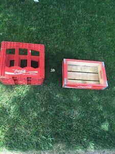 Antique Coke crates