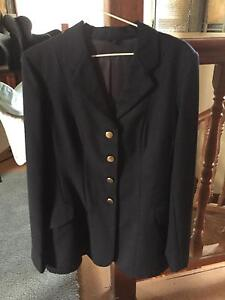 Navy riding jacket Grafton Clarence Valley Preview