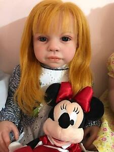Reborn Toddler Girl Baby Doll! AMAZING! ARTIST from UK Docklands Melbourne City Preview